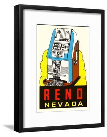 Slot Machine Graphic, Reno, Nevada
