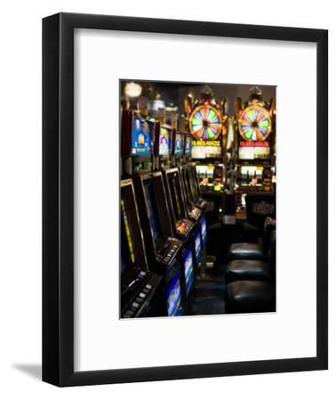 Slot Machines at an Airport, Mccarran International Airport, Las Vegas, Nevada, USA