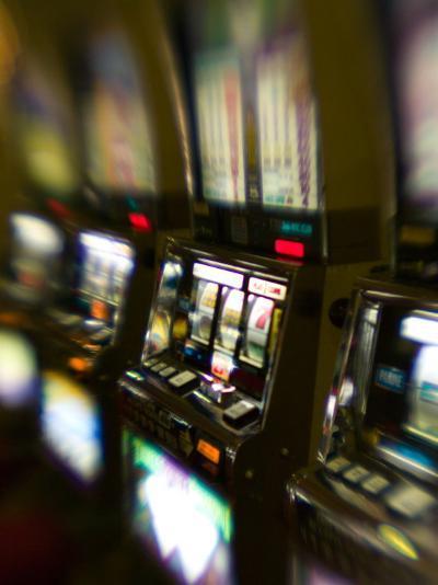 Slot Machines, Luxor Casino, Las Vegas, Nevada, USA-Walter Bibikow-Photographic Print