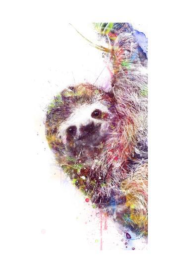 Sloth-VeeBee-Art Print