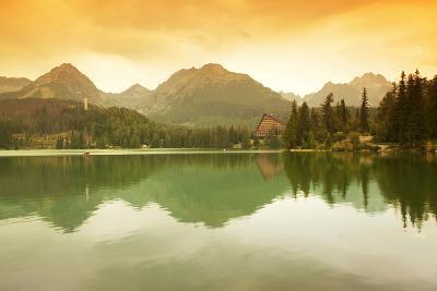 Slovakia, Carpathian Mountains, High Tatra. the Strbske Pleso Lake-Ken Scicluna-Photographic Print