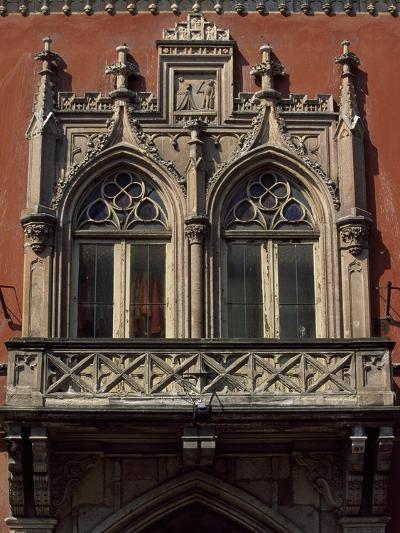 Slovakia, Kosice, Namestie Slobody, Building Architectural Detail--Giclee Print