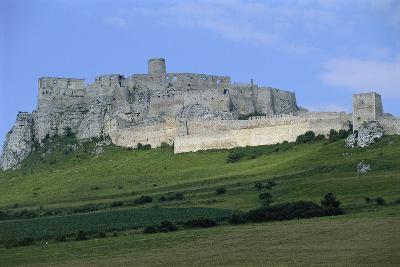 Slovakia, Presov Region, Spis Castle--Photographic Print