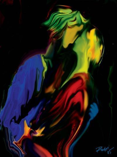 Slow Dance-Rabi Khan-Art Print