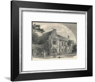 'Slyfield House: The Garden Front', Surrey, 1886-C Murray-Framed Giclee Print