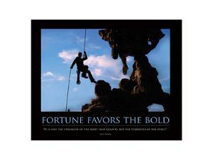 Fortune Favors the Bold ll by SM Design