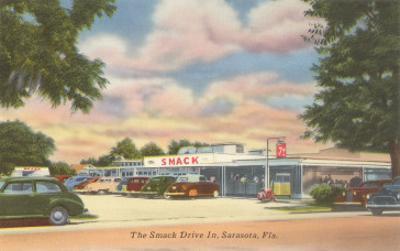 Smack Drive-In, Roadside Retro, Sarasota, Florida