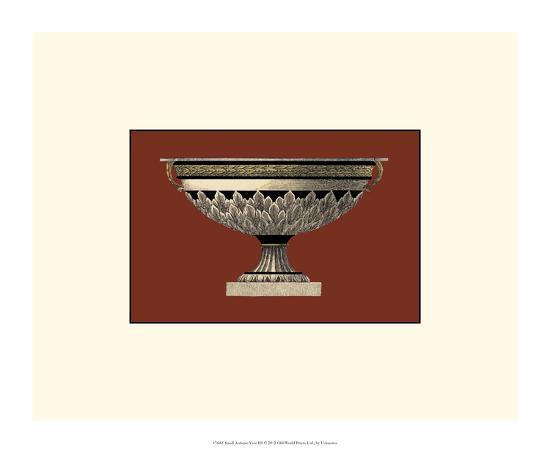 Small Antique Vase III-Da Carlo Antonini-Giclee Print