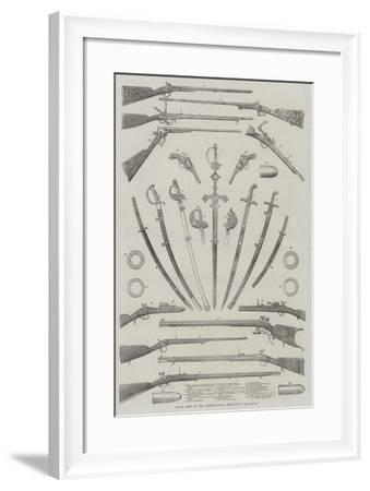 Small Arms in the International Exhibition--Framed Giclee Print