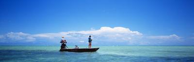 Small Boat Tarpon Fishing, Islamorada, Florida, USA--Photographic Print