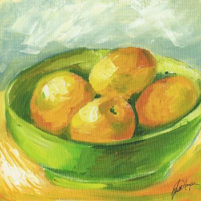 Small Bowl of Fruit I-Ethan Harper-Art Print