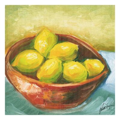 Small Bowl of Fruit IV-Ethan Harper-Art Print