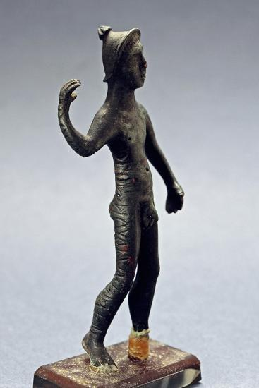 Small Bronze Figurine with Paleovenetian Inscription from Lagole--Giclee Print