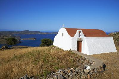 Small Church, Patmos, Dodecanese, Greek Islands, Greece, Europe--Photographic Print
