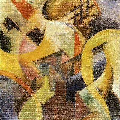 Small Composition I, 1913-Franz Marc-Giclee Print