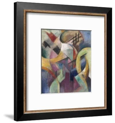 Small Composition I-Franz Marc-Framed Giclee Print
