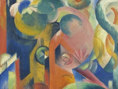 Small Composition Iii, 1913/1914-Franz Marc-Giclee Print