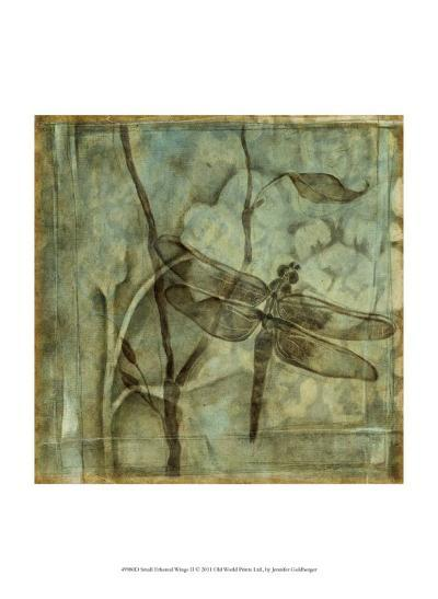 Small Ethereal Wings II-Jennifer Goldberger-Art Print