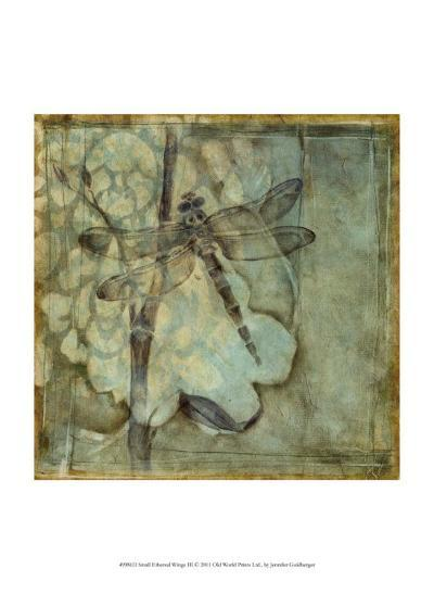 Small Ethereal Wings III-Jennifer Goldberger-Art Print