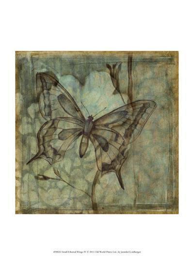 Small Ethereal Wings IV-Jennifer Goldberger-Art Print