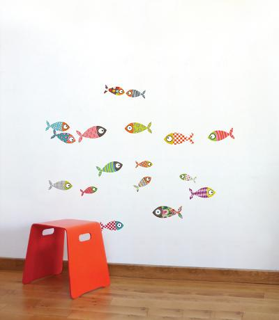 Small Fish Wall Decal--Wall Decal