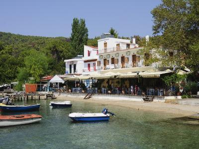 Small Fishing Harbour of Agnontas, Skopelos, Sporades Islands, Greek Islands, Greece, Europe-Robert Harding-Photographic Print