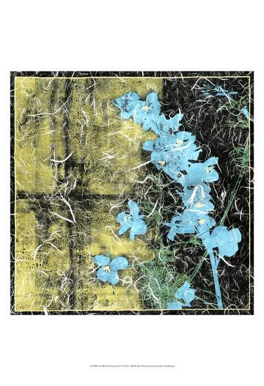 Small Floral Imprint II-Jennifer Goldberger-Art Print