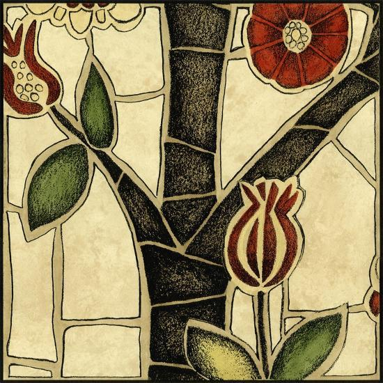 Small Floral Mosaic III-Megan Meagher-Art Print