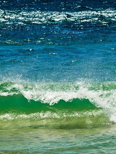 Small Green Wave, Strait of Gibraltar, El Estrecho Nat'l Park Tarifa, Costa de La Luz, Spain-Giles Bracher-Photographic Print