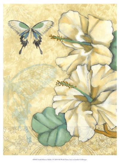 Small Hibiscus Medley I-Jennifer Goldberger-Art Print