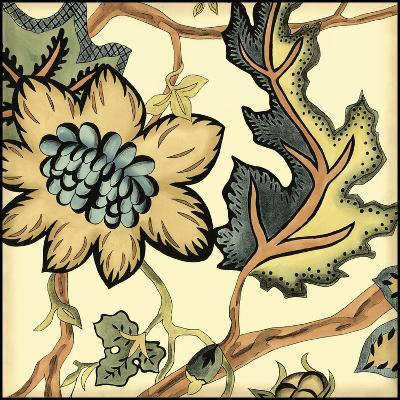 Small Jacobean Tile III-Chariklia Zarris-Art Print