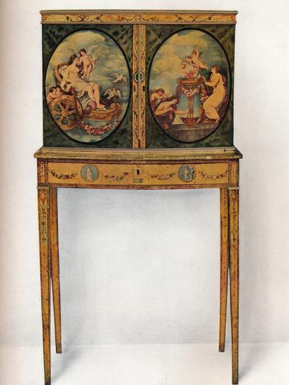 'Small Mahogany Cabinet on Stand', c1680-Unknown-Photographic Print