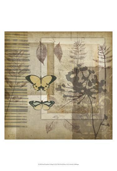 Small Notebook Collage II-Jennifer Goldberger-Art Print