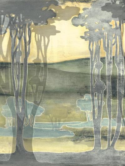 Small Nouveau Landscape I-Jennifer Goldberger-Premium Giclee Print