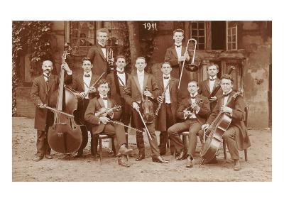 Small Orchestra--Art Print