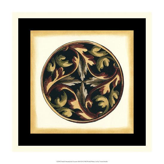 Small Ornamental Accents III--Giclee Print