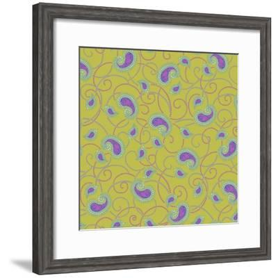 Small Paisley V-Katia Hoffman-Framed Art Print