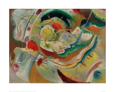 Small Picture with Yellow, 1914-Wassily Kandinsky-Giclee Print