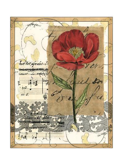 Small Poppy Melody I-Vision Studio-Art Print