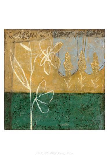 Small Pressed Wildflowers I-Jennifer Goldberger-Art Print