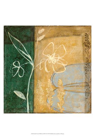 Small Pressed Wildflowers III-Jennifer Goldberger-Art Print
