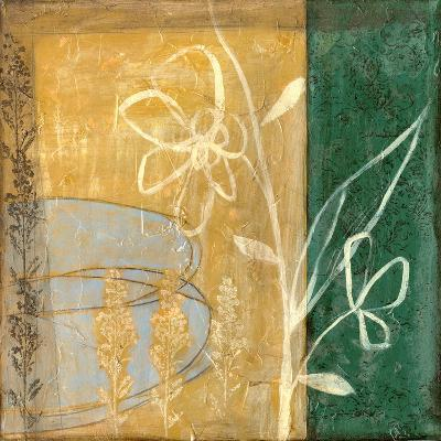 Small Pressed Wildflowers IV-Jennifer Goldberger-Art Print