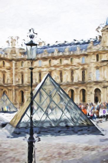 Small Pyramid - In the Style of Oil Painting-Philippe Hugonnard-Giclee Print