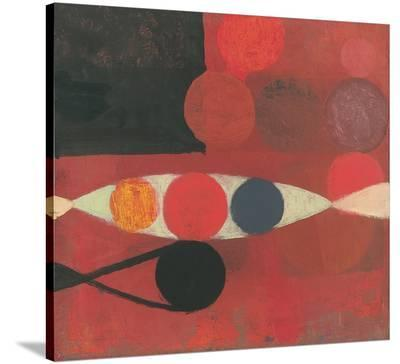 Small Red Seed #6-Bill Mead-Stretched Canvas Print