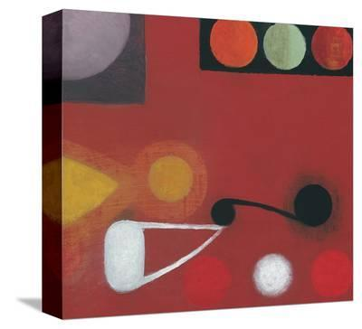Small Red Seed, no. 10-Bill Mead-Stretched Canvas Print
