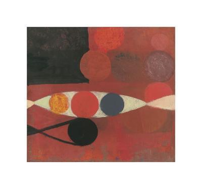 Small Red Seed, no. 6-Bill Mead-Art Print