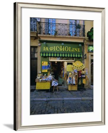 Small Shop, Aix-En-Provence, Provence, France, Europe-Gavin Hellier-Framed Photographic Print