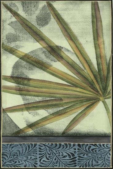Small Sophisticated Palm I-Jennifer Goldberger-Art Print