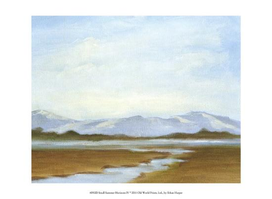 Small Summer Horizons IV-Ethan Harper-Art Print