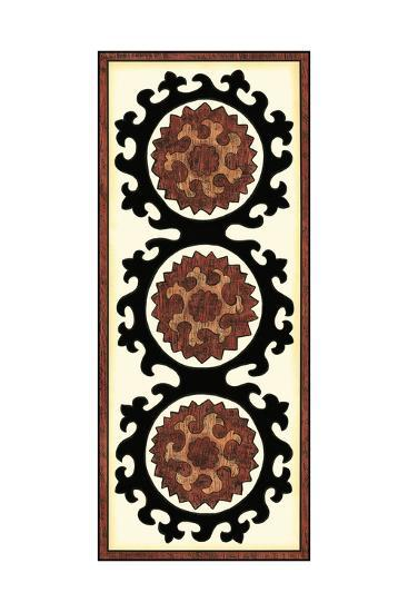 Small Suzani Panel IV-Chariklia Zarris-Art Print